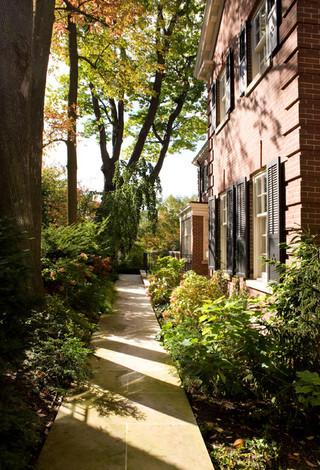 现代欧式风格欧式别墅及客厅豪华室内入户花园效果图