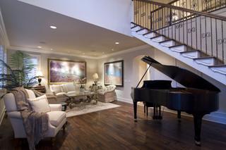 现代欧式风格欧式别墅及豪华欧式卧室实木楼梯设计图纸
