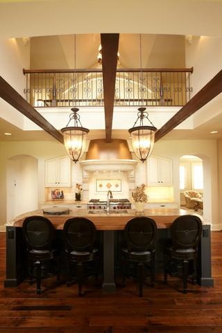 现代欧式风格欧式别墅客厅豪华厨房吊顶餐厅装修图片