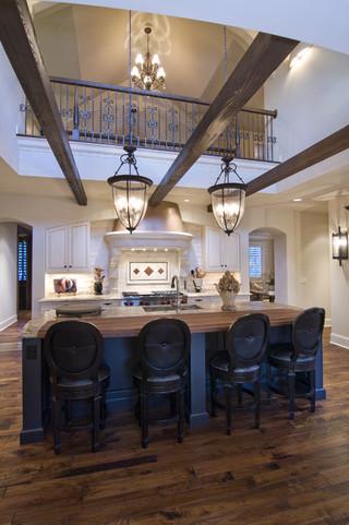 欧式风格欧式别墅及豪华欧式客厅客餐厅吊顶装修图片