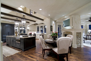 欧式风格卧室欧式别墅客厅豪华别墅欧式开放式厨房装修图片