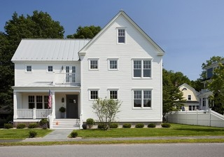 美式风格客厅美式别墅及唯美白色室内装修图片