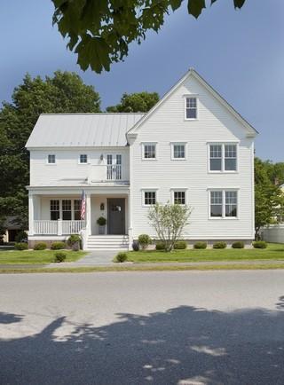 现代美式风格美式别墅唯美白色室内设计图