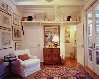 简欧风格卧室豪华室内豪华型书房小户型装潢