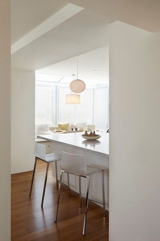 宜家风格客厅时尚家居装饰折叠餐桌图片