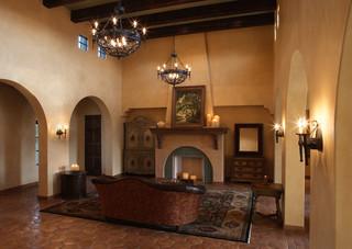 高大橡树拥抱的别墅  配以古朴欧式风格
