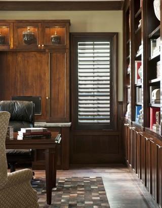 欧式风格家具欧式别墅及现代奢华豪华型浪漫书房装潢
