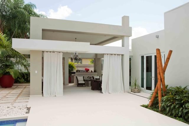 白色别墅设计  纯美白色配以现代简约风格