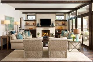 现代欧式风格欧式别墅客厅低调奢华豪华型小客厅沙发装潢