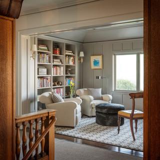 现代简约风格卫生间小三居室客厅简洁白色欧式家具设计图