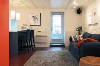 现代简约风格卧室10平米实用客厅白色效果图