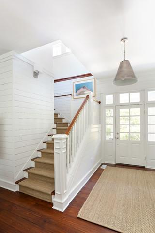 北欧风格卧室一层别墅及实用白色厨房效果图