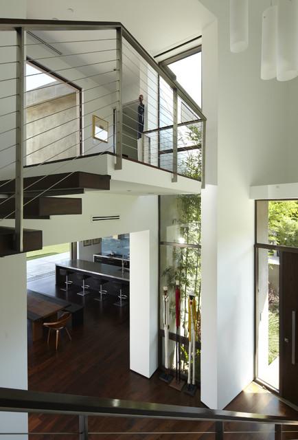 现代简约风格厨房300平别墅简单实用咖啡色效果图