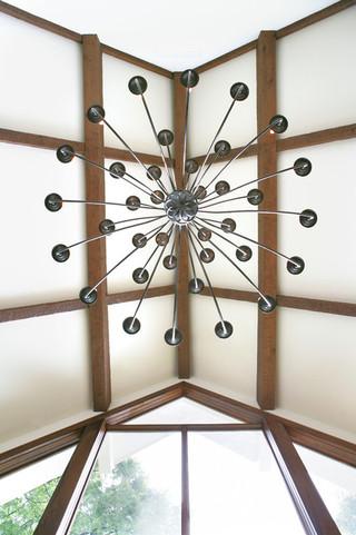混搭风格客厅富裕型140平米以上客厅灯具效果图