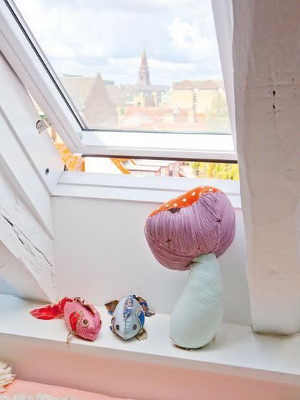 北欧风格艺术飘窗护栏设计