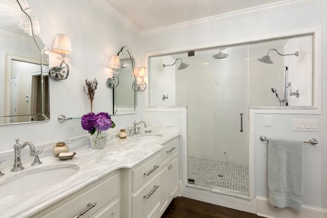 美式乡村风格客厅富裕型140平米以上2平米卫生间装修效果图