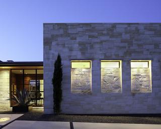中式简约风格豪华型140平米以上家庭庭院设计图纸