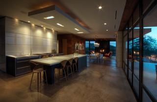 现代简约风格客厅豪华型140平米以上中式餐桌效果图