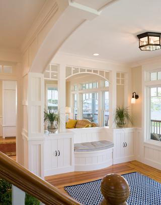 混搭风格客厅富裕型140平米以上室内客厅隔断装修图片