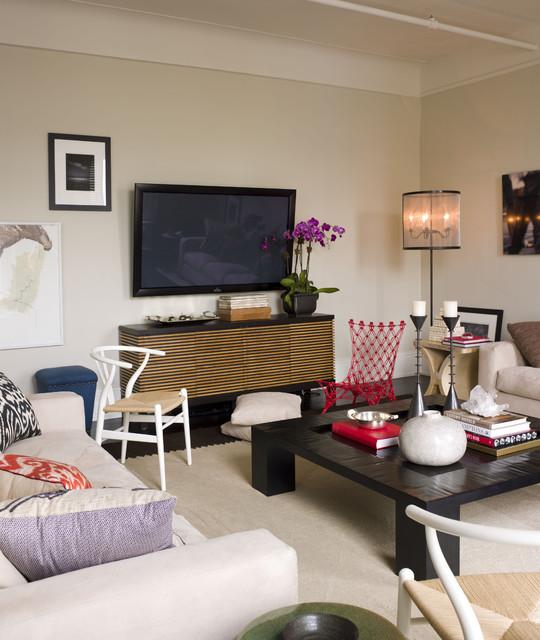 中式简约风格富裕型140平米以上布艺沙发效果图