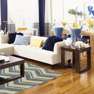 混搭风格客厅经济型140平米以上布艺沙发效果图