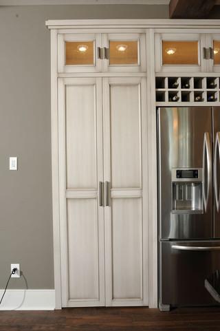 美式风格卧室富裕型140平米以上木门店面效果图