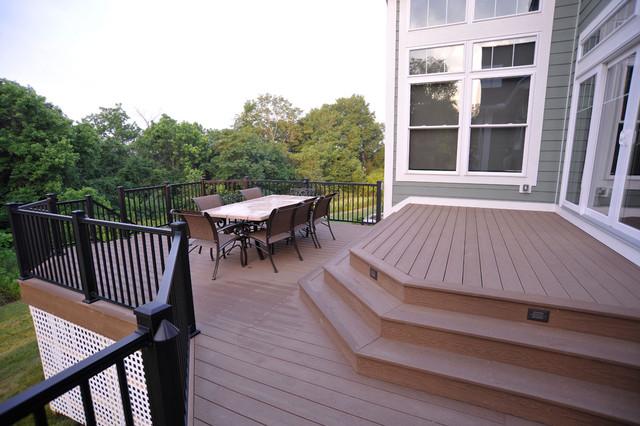 美式风格客厅富裕型140平米以上阳台护栏装修图片