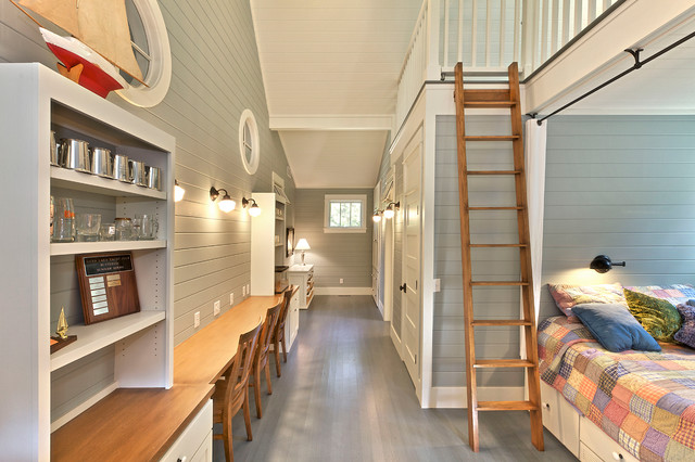 田园风格整套富裕型140平米以上2013卧室装修图片