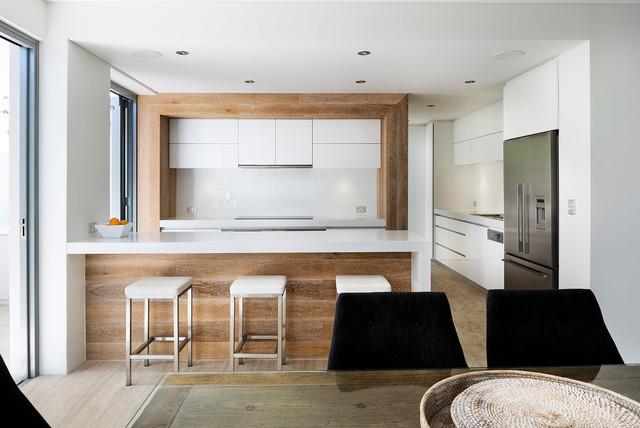 欧式简约风格富裕型140平米以上欧式开放式厨房效果图高清图片