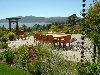 简约中式风格度假别墅富裕型140平米以上红木家具餐桌效果图
