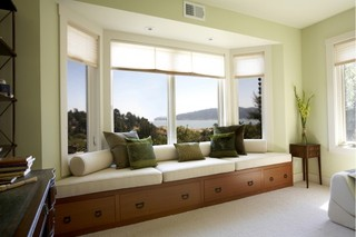 中式风格度假别墅富裕型140平米以上室内飘窗效果图