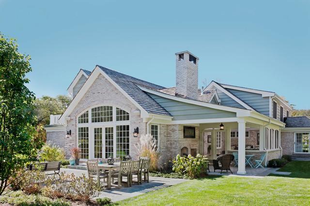 美式风格卧室度假别墅富裕型140平米以上私家庭院设计图纸