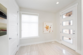混搭风格客厅富裕型140平米以上入户玄关装修效果图