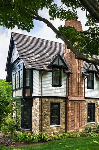 欧式别墅客厅古典中式庭院灯阳台飘窗设计图