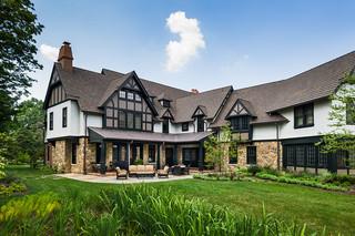 欧式别墅客厅新古典卫生间阳台花园名牌布艺沙发图片