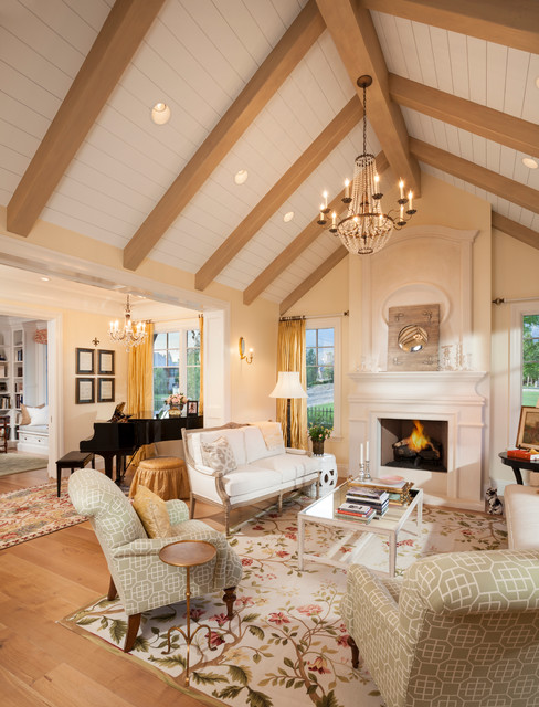 欧式风格客厅三层半别墅豪华型 客厅装修效果图图片