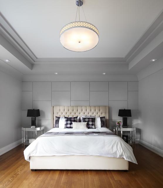 现代简约风格卧室富裕型140平米以上5平米卧室改造
