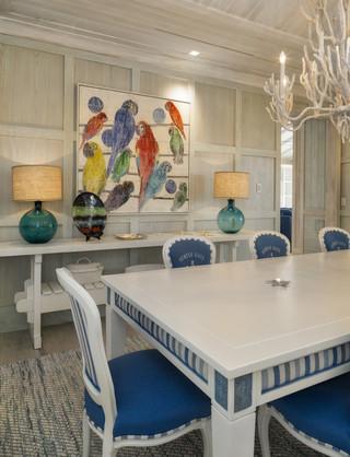 地中海风格室内经济型140平米以上中式餐桌图片
