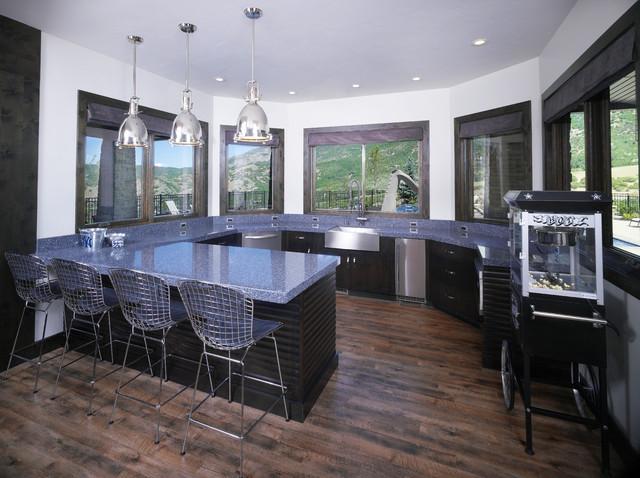 欧式风格客厅富裕型140平米以上2014整体厨房设计图