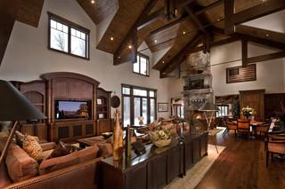 混搭风格客厅一层别墅及豪华型140平米以上2013家装客厅装修效果图