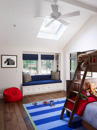 美式风格客厅大方简洁客厅白色客厅16平米客厅效果图