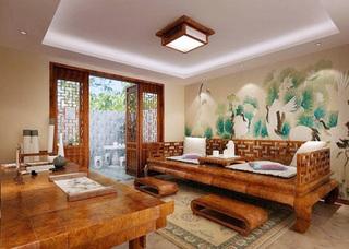 15个中式背景墙 尽显中式优雅