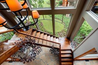 木结构设计的小屋    简欧田园风格布置