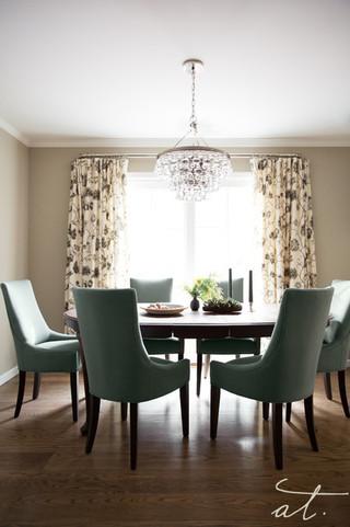 一室一厅现代简约风格餐厅装修