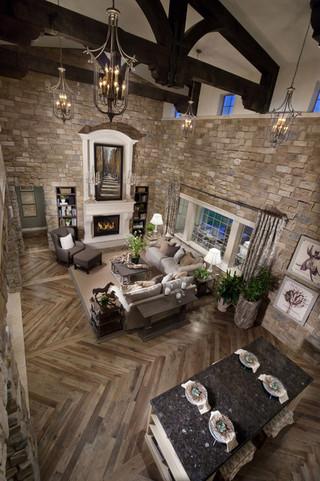 欧式灰色别墅装修 给你一个稳重的空间