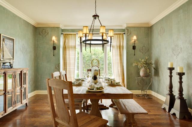 堪萨斯城精品两居室装修 温馨餐厅开放式厨房