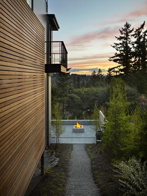 把别墅建在山上 简约风格别墅装修