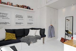 美妙绝伦的17平方米小户型公寓