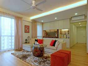 新加坡舒適現代公寓
