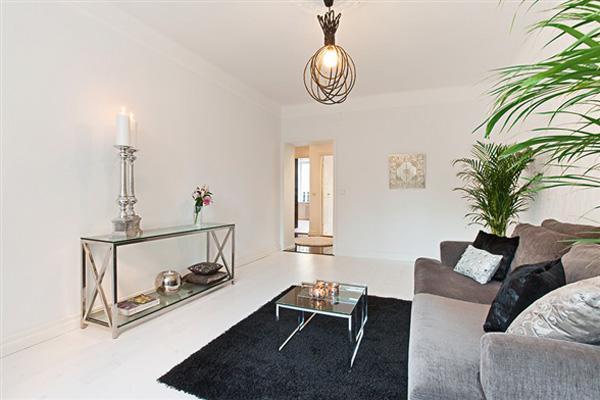 北欧风格简洁客厅旧房改造家装图片